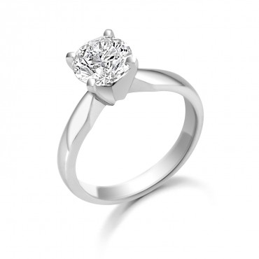 Icon Brilliant Cut Diamond Ring 1.25cts