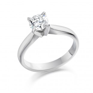 Icon Brilliant Cut Diamond Ring 0.71cts