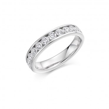 Brilliant Channel Set Eternity Ring 1.00cts