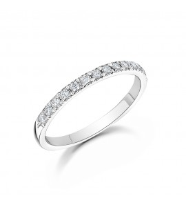 18ct Gold Brilliant Diamond Eternity Ring 0.25cts
