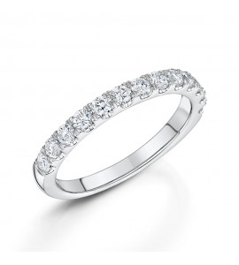 Brilliant Claw Set Diamond Eternity 0.50cts
