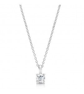 Classic Brilliant Diamond Pendant 0.50cts
