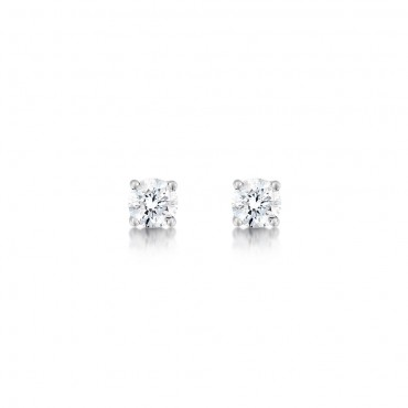 Classic Brilliant Diamond Earrings 0.60cts