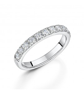 18ct Gold Brilliant Diamond Eternity Ring 0.75cts