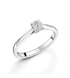 Diamond Solitaire Ring 0.30cts