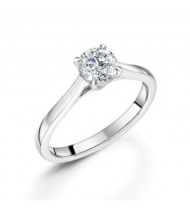 Diamond Solitaire Ring 0.80cts