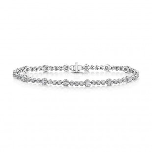 Diamond Tennis Bracelet 1.94cts