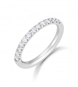 Micro Claw Diamond Eternity Ring 0.50cts