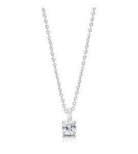 Classic Brilliant Diamond Pendant 0.40cts
