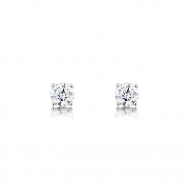 Classic Brilliant Diamond Earrings 0.80cts
