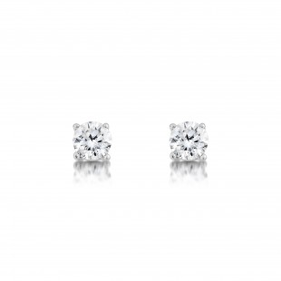 Classic Brilliant Diamond Earrings 1.00cts