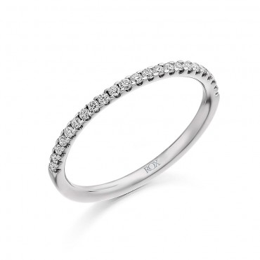 Micro Claw Diamond Eternity Ring 0.25cts